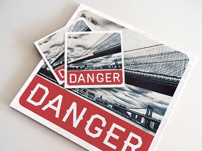 Designers.mx danger cover art
