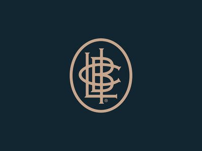 LIBC Monogram monogram branding logomark logo forefathers growcase