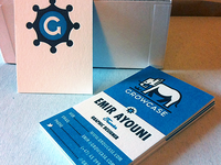 New Growcase Business Cards