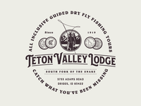 Teton Valley Lodge - Crest Design