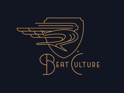 Beat Culture Brewing Company brand identity logo logomark branding brew hood ornament beatnik craft beer miami florida beat culture brewing company brewery growcase