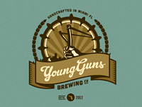Young Guns Brewing Co. - Logo Suggestion 1