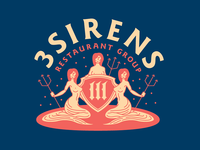 3 Sirens Restaurant Group - Branding