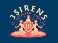 3 Sirens Restaurant Group - Branding