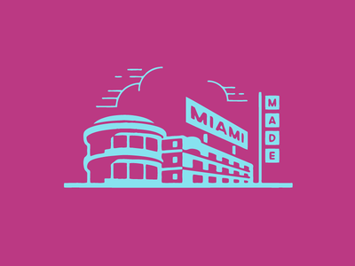 Miami Made miami motel hotel holiday inn growcase brewery beat culture brewing company miami florida craft beer beatnik brew