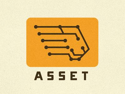 Asset Logo Proposal #1 growcase logo logotype identity branding logo design logo designer lion electrons science ehealth health security asset hidden word lion head onramp