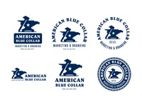 American Blue Collar - Brand Identity System