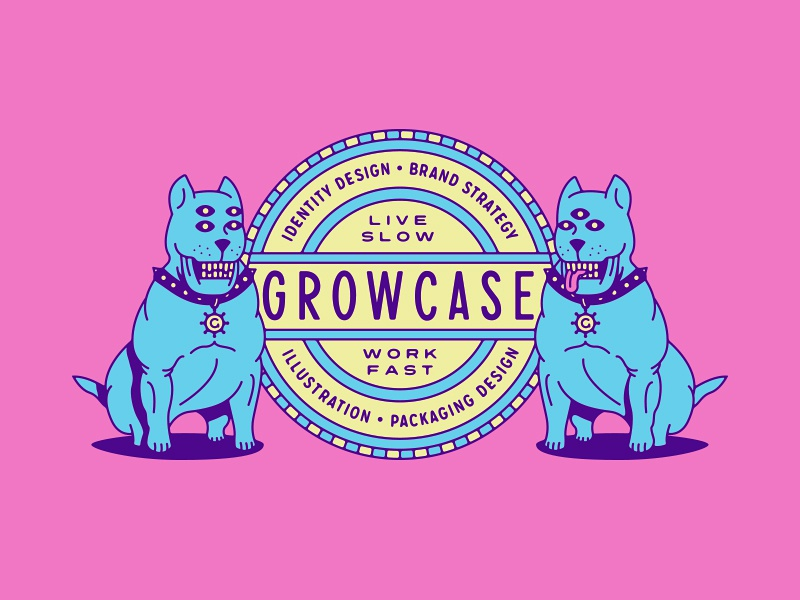 Growcase badge