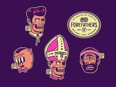 Creative Works Conference - FF Stickers