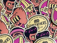 Creative Works Conference - Sticker Spread