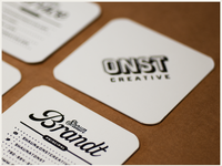 Onst creative embossed business cards large
