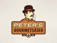 Peter's Gourmetsåser Logo
