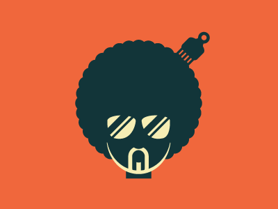 Afrohead logo exploration