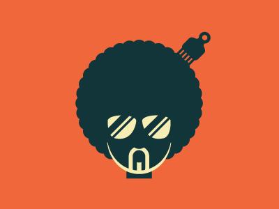 Afro Logo Exploration growcase logo logotype logo design logo designer identity afro comb bonafide glasses shades sunglasses beard