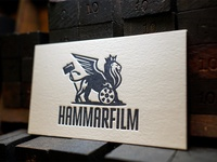 Hammarfilm - Letterpressed  Business Cards