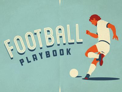 Football playbook artwork