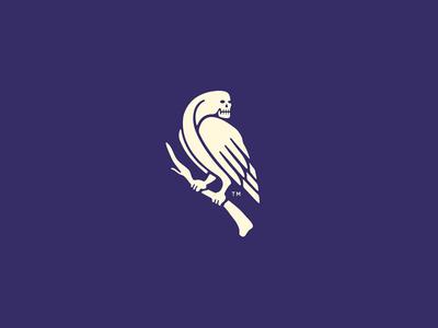 Paragram Bird paragram birdie skull bird corporate logomark logotype logo design designer brand identity id branding forefathers group growcase