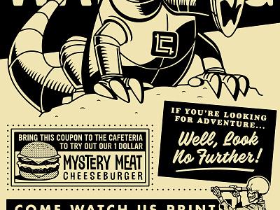 CROP 2019 - Live Print Merch beast monster truck skull skeleton coupon industry print shop flyer louisiana baton rouge crop cons 2019 growcase