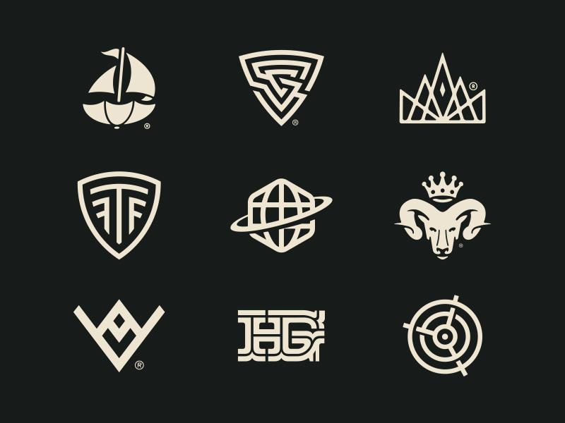 Logomarks behance