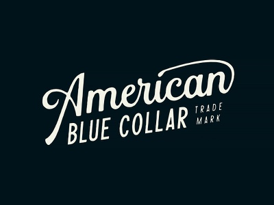 American Blue Collar - Brand Assets 2/3 merchandise merch workwear working class mechanics mechanic logotype logo design hammer growcase entrepreneurs electricians electrician contractors contractor carpenters carpenter branding brand identity american blue collar