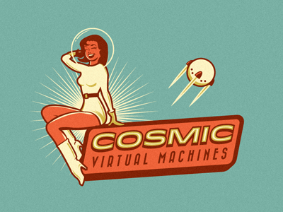 Cosmic virtual machines logo
