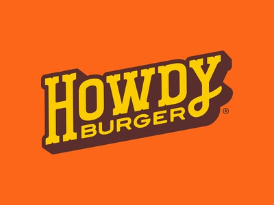 Howdy Burger Logotype