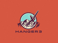 Logo concept for Hanger 3