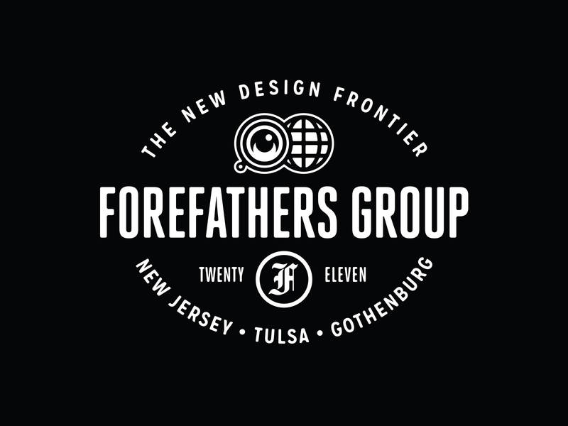New Forefathers Europe Office Signage logotype logo brand identity branding sign signage forefathers group growcase