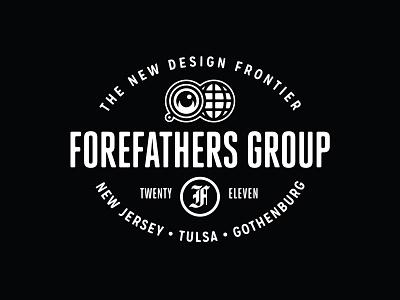 New Forefathers Europe Office Signage logotype logo brand identity branding sign signage forefathers group growcase