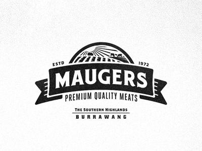 Maugers meat emblem