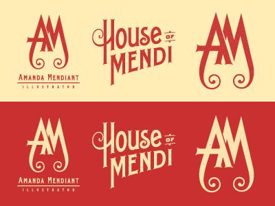 Amanda mendiant branding explorations