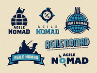 Agile Nomad - Logo Mark & Emblem Explorations