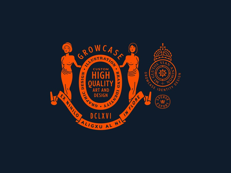 Growcase 2020 Portfolio Brand Assets logotype emblem badge logo brand assets branding emir ayouni growcase portfolio website 2020