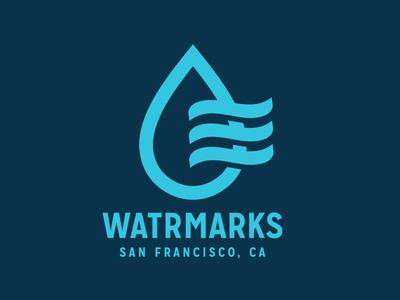 Watrmarks Logo WIP