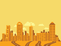 Unused: Atlanta Skyline (Must Have Wheat Thins Campaign)