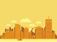 Unused: Boston Skyline (Must Have Wheat Thins Campaign)