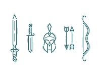 Greek Weapons