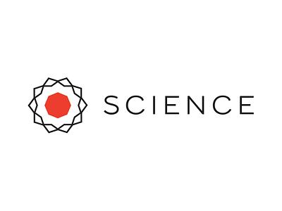 Science Rebrand science branding logo redesign web logos identity