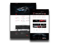 Car Retail Website Design