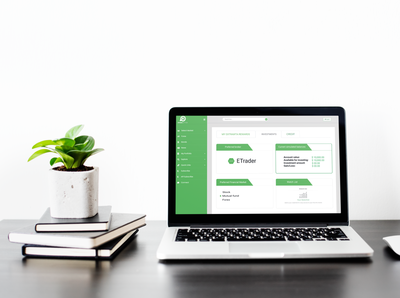 Stock market Based Investment games App UI