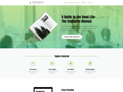 Web Development for Pratt consulting LLC