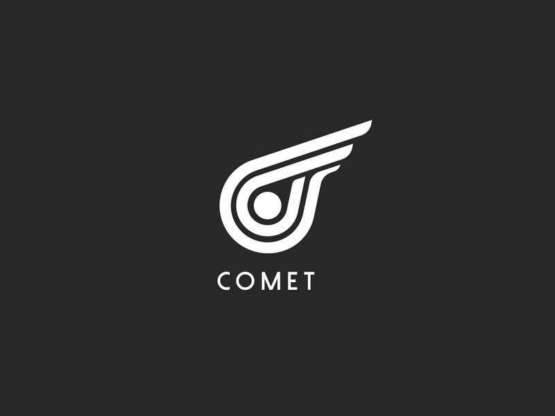 comet letter c logosketch meteor comet logo logos logotype logo alphabet initial logo logogram icon logo deisgn logo