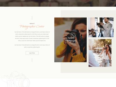 Photographer Center