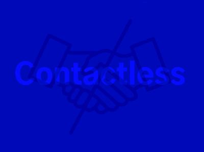 Contactless - Coronavirus Emergency Free Iconset (100x icons)