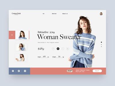 Web Shopping Interface interface web shopping ui