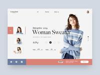 Web Shopping Interface