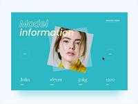 Model information Web
