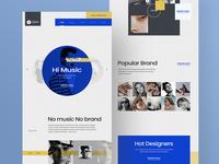 Lava music website