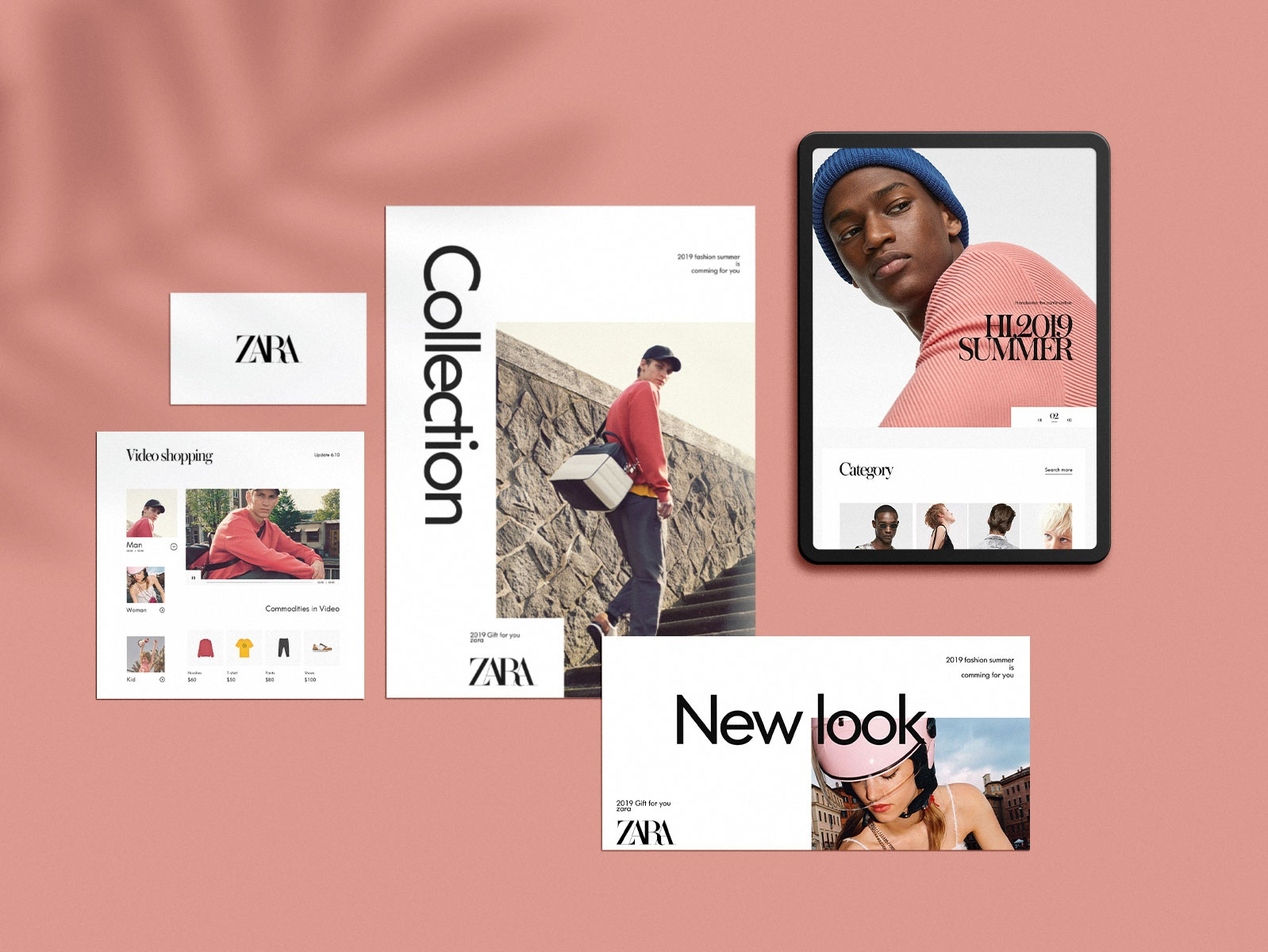 ZARA Redesign zara website design web ui