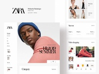 Zara Website Redesign